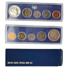 1966 United States Special Mint Set ~ uncirculated & sealed with original box sleeve