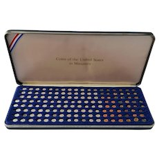 Coins of the United States in Miniature ~ 1980 ~ Franklin Mint