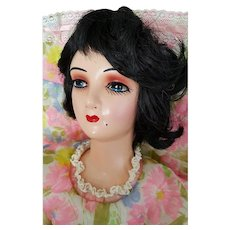 Vintage Boudoir Bed Flapper Doll ~ Bright Young Thing of the Roaring 1920's