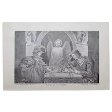 The GAME ~ Religious Engraving plates collection ~ 'Bible Readings for the Home Circle' ~ 1888