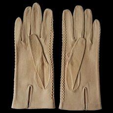 Vintage Italian Leather Gloves ~c.1960