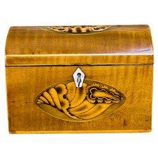Satinwood Tea Caddy c.1790