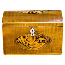 Satinwood Tea Caddy c.1790