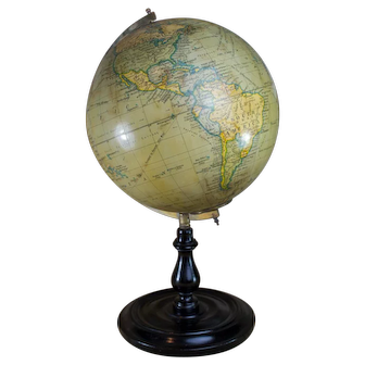 20th Century Geographia Fleet Street London globe