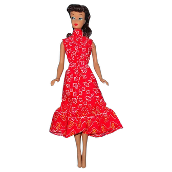 Vintage MOD Era 3210 Montgomery Ward Exclusive Re-Issue Ponytail Barbie Doll