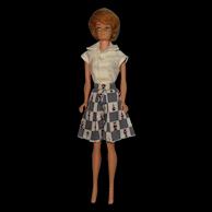 Vintage Ash Blonde Bubblecut Barbie Doll