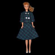 Vintage Ash Blonde Ponytail Barbie Doll 6/7