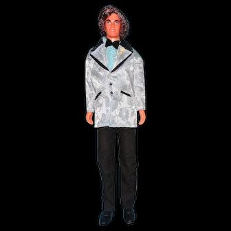 4234 Montgomery Ward  Mod Hair Ken Doll in Original Outfit
