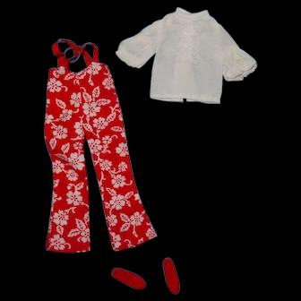 Vintage Barbie Skipper Doll Clothes - MOD Skipper 1736 Super Slacks