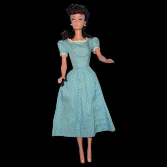 Vintage Brunette Ponytail Barbie 6/7