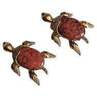 Vintage Gerry's Turtle Scatter Pins