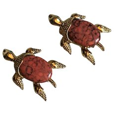 Vintage Gerry's Turtle Scatter Pins