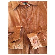 Bushwacker Leather Suede Shirt