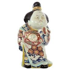 Japanese Kutani Porcelain Geisha Junihitoe Bijin Court Lady Figure Figurine Doll
