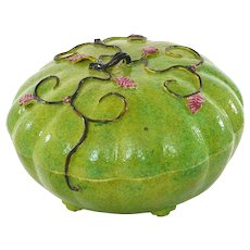 1930' Chinese Altar Fruit Melon Sweetmeat Box