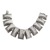 SARAH COVENTRY signed Open Design Linked Bracelet