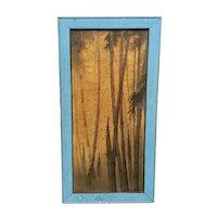 Circa 1900 Chinese Sumi Ink Bamboo Painting