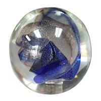 1986 Peet Robison Art Glass Paperweight