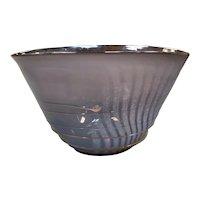 Mark Rosenbaum Art Glass Centerpiece Bowl (1983) (New Orleans)