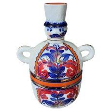 Vintage Korosten Porcelain Figural Decanter Made in Ukraine