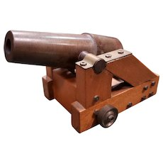 Mid 20th Century Replica of Early 19th Century English Signal Cannon