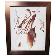 """Aaron Reed - """"Spirit of Jazz II"""" Limited Edition Signed Print (#140/300) (New Orleans) (2005)"""