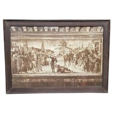 Early 20th Century St. George and the Dragon Framed Print