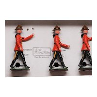 Britains RCMP Mounties Set 1554