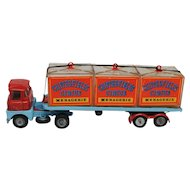 Corgi Chipperfields Circus Menagerie Tractor Trailer