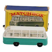 Matchbox 68B Mercedes Coach Rare Turquoise Version.