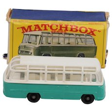 Matchbox 68B Mercedes Coach Rare Turquoise Version.