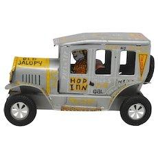 Marx Linemar Old Jalopy Vintage Tin Friction Car