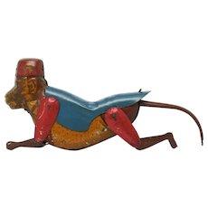 Bruno Vintage Lindstrom Tin String Climbing Monkey