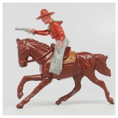 Johillco John Hill Co Riding Cowboy Firing Pistol