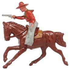Johillco John Hill Co Riding Cowboy Firing Pistol