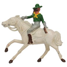 Johillco John Hill Co Riding Cowgirl.