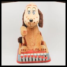 Buttons the Puppy with a Brain Linemar Marx Toy from 1961