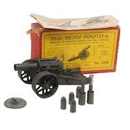 Britains 18 inch Heavy Howitzer #1266