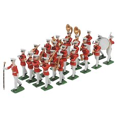 24 Piece Marching Band Metal Figures