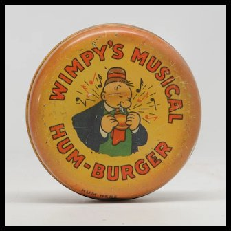 Wimpy's Musical Hum-Burger Popeye 1930's