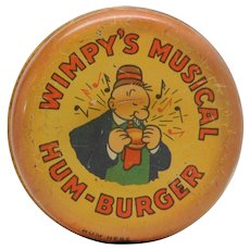 Wimpy's Musical Hum-Burger Popeye 1930's