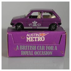 Corgi Princess Diana Royal Wedding Car 1981