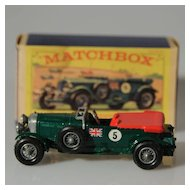 Matchbox Models of Yesteryear 1929 4.5 litre Bentley