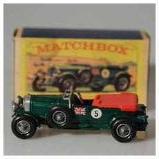 Matchbox Models of Yesteryear 1929 4.5 litre Bentley