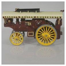 Matchbox Models of Yesteryear Fowler Showman's Engine early version dark purple