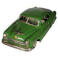 Tin Friction Marusan 1952 Ford Coupe 10 inches