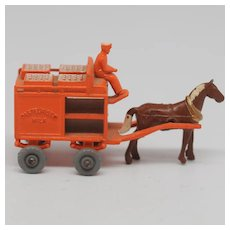 Lesney Matchbox 7A Horse-drawn Milk Cart GPW 1954 Diecast Model
