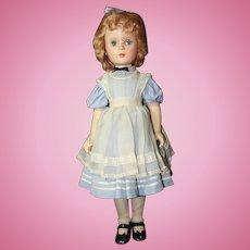 """21"""" Madame Alexander Alice In Wonderland Doll"""