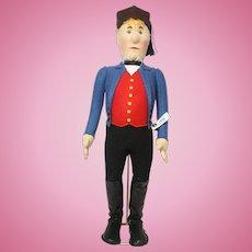 """17"""" Steiff Replica Doll of Farmer Jorg 1987-1988"""