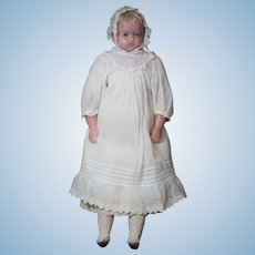 "19 1/2"" Pierotti Wax Doll circa 1850"